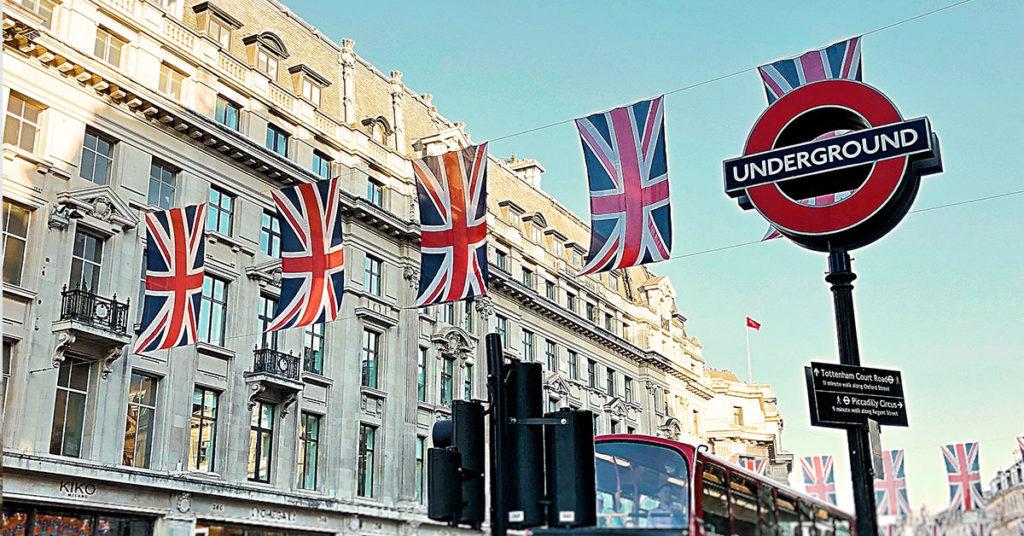 イギリス留学 ロンドン ユニオンジャック